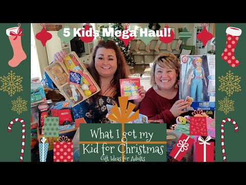 HUGE KIDS CHRISTMAS GIFT HAUL: What I Got My Toddlers And Kids For Christmas 2019!