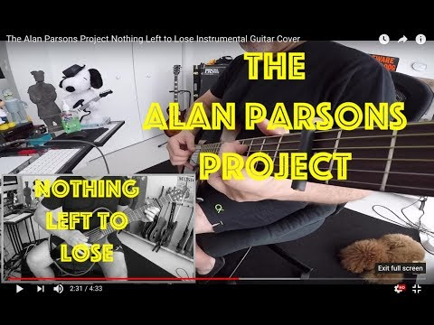 The Alan Parsons Project Nothing Left to Lose Instrumental Guitar Cover Acoustic and Electric Guitar
