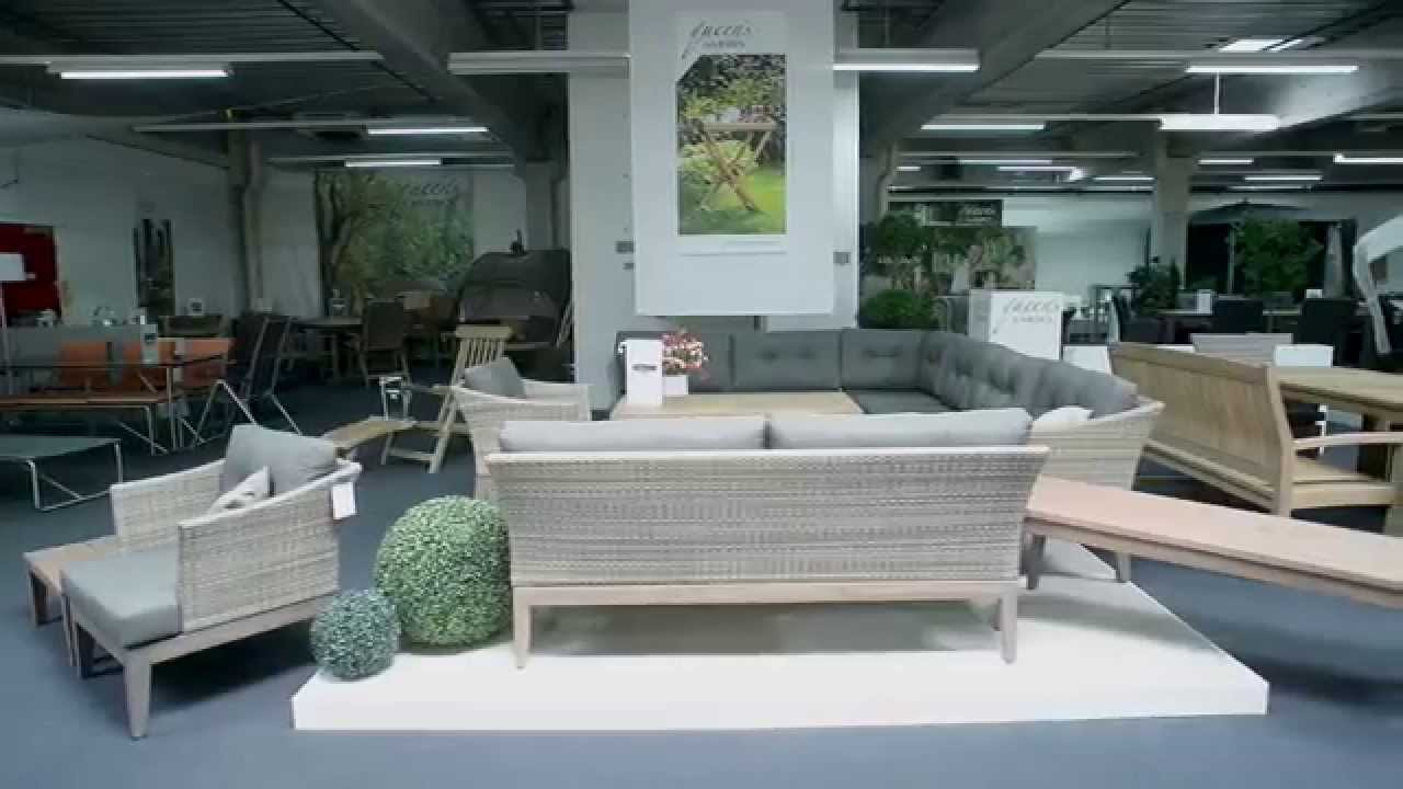 ausstellung gartenm bel fa gautzsch m nster youtube. Black Bedroom Furniture Sets. Home Design Ideas