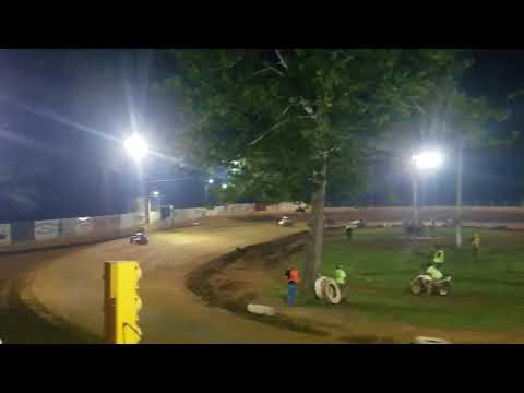 Mike Kalman - Shellhammers Speedway Feature - 8/30/17