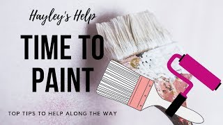 House Interior Painting tips, secrets and motivation - Part 1