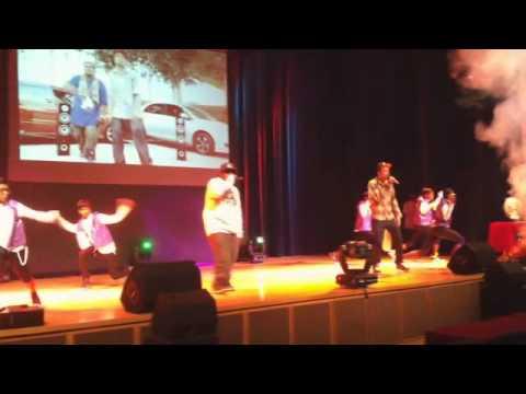 Dj Funkysara - Live performance for Danz Arena 2011 ft. El Hustler [ Tamil Hip hop ]