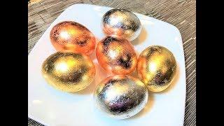 Как Покрасить Яйца. ПАСХАЛЬНЫЕ ЯЙЦА от Курочки Рябы.