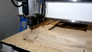 Video ATC cnc router,9kw hsd spindle 4cm solid wood cutting download MP3, 3GP, MP4, WEBM, AVI, FLV Desember 2017