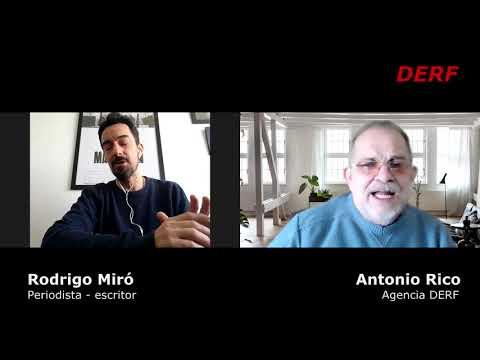 Rodrigo Miró presenta su libro Pandemia: Fue un trabajo artesanal