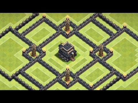 Most Used Base In Clash Of Clan Townhall 9 | Th9 Base Farming |  ADM Gaming