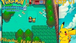 """Pokémon SoulSilver Randomlocke Cap 01 """"Pikachu, Yo te elijo!!"""""""