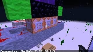Minecraft Undimensional Portals.