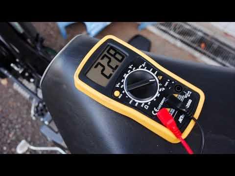 スーパーカブ110(JA44)のアイドリング時の電流値