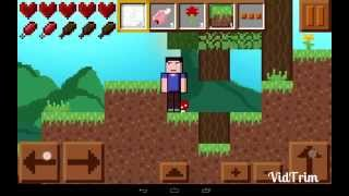 Maincraft (2D Minecraft) Android Gameplay