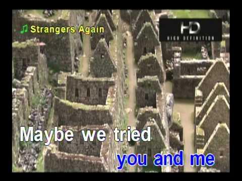 Strangers Again Karaoke