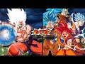 Goku Super Saiyajin Omni God VS Goku God Forms | Dragon Ball Z Budokai Tenkaichi 3