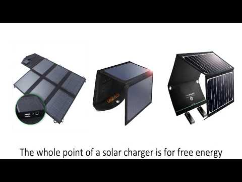 Top 4 Portable Solar Panels for 2018!