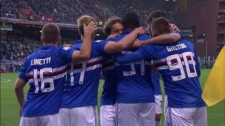 Il gol di Zapata - Sampdoria - Juventus 3-2 - Giornata 13 - Serie A 2017/18