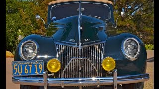 1939 Ford Deluxe Convertible Sedan For Sale Very Rare 1 of 2,861, CA