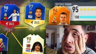 99.9% IMPOSSIBLE 195 TOTS FUTDRAFT CHALLENGE!!! (FIFA 17 TOTS)