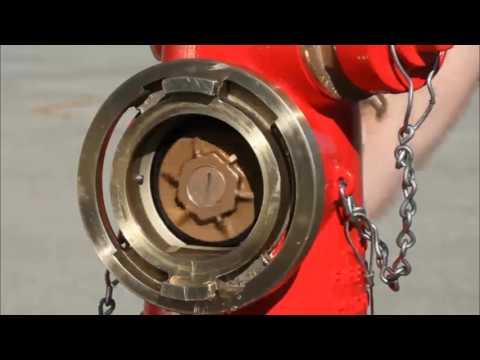 Jones J4060 and J4060M Ductile Iron Wet Barrel Fire Hydrant with Storz Pumper Nozzle