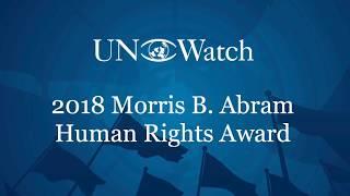 Maajid Nawaz Wins 2018 Morris B. Abram Human Rights Award