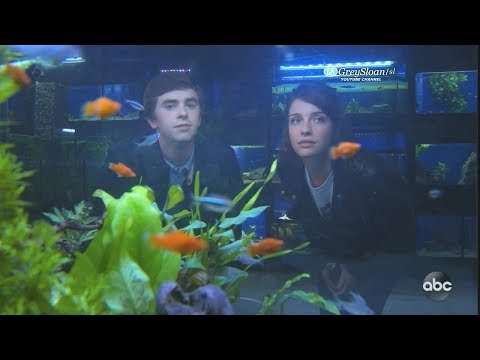 The Good Doctor 2x07 Ending Scene Shaun and Lea Get Another Fish to Replace Hubert