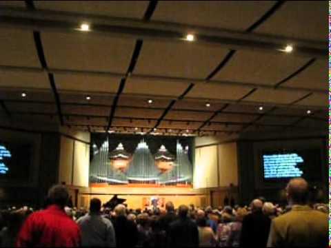 Hymn Crown Him At Olivet Nazarene University Organ