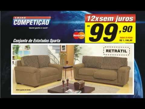 Sofas For Less Green Sofa Furniture Comercial Lojas Competição - Youtube