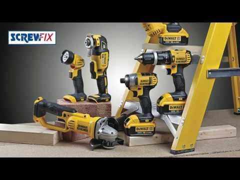 DeWalt DCK697M3-GB 18V 4.0Ah Li-Ion XR Cordless 6 Piece Power Tool Kit   Screwfix