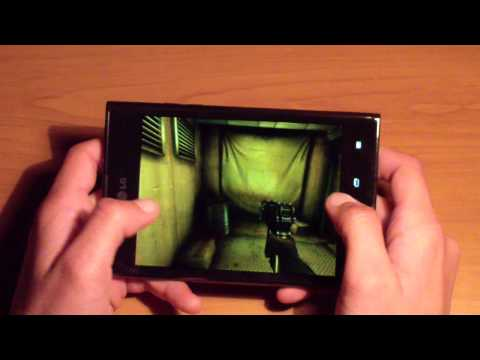 LG Optimus Vu - Video Review Part 2
