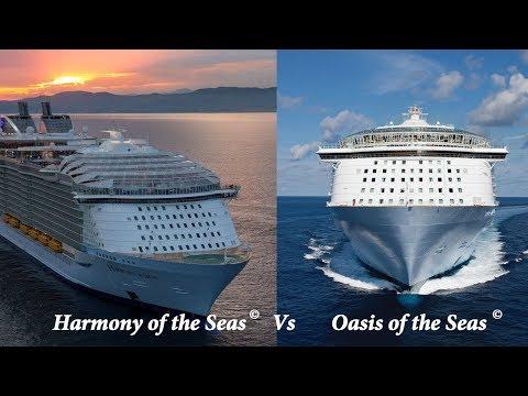 Harmony of the Seas vs Oasis of the Seas