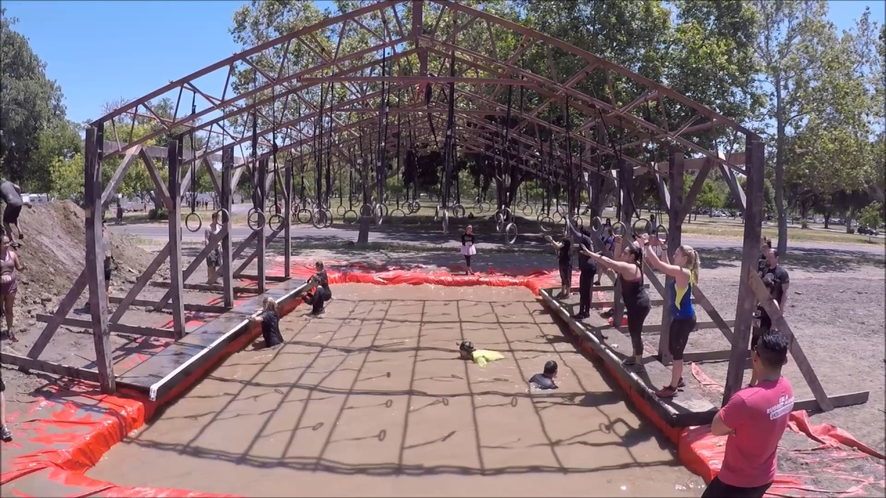 Rugged Maniac Norcal 2017 The Ringer Obstacle Youtube