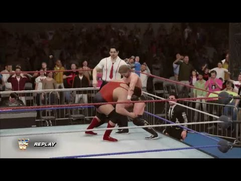 Money Inc. vs The Natural Disasters Tag Title Match - WWF WrestleMania 8 (WWE 2K16 Universe)