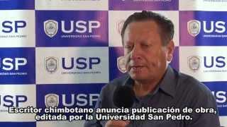 La Universidad San Pedro apoyando a la difusión de la cultura chimb...