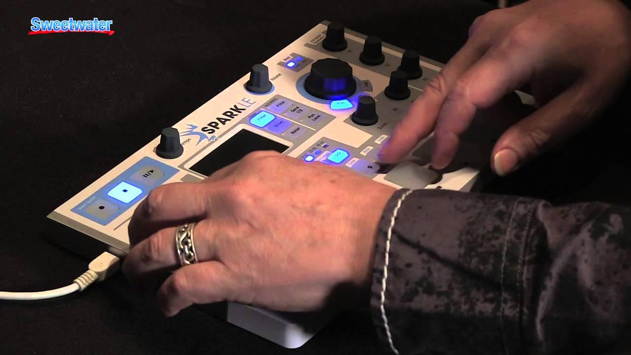arturia sparkle virtual drum machine demo sweetwater sound youtube. Black Bedroom Furniture Sets. Home Design Ideas