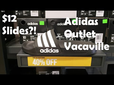 adidas-outlet-in-vacaville-near-sacramento.-craziest-deals-on-slides-ever!
