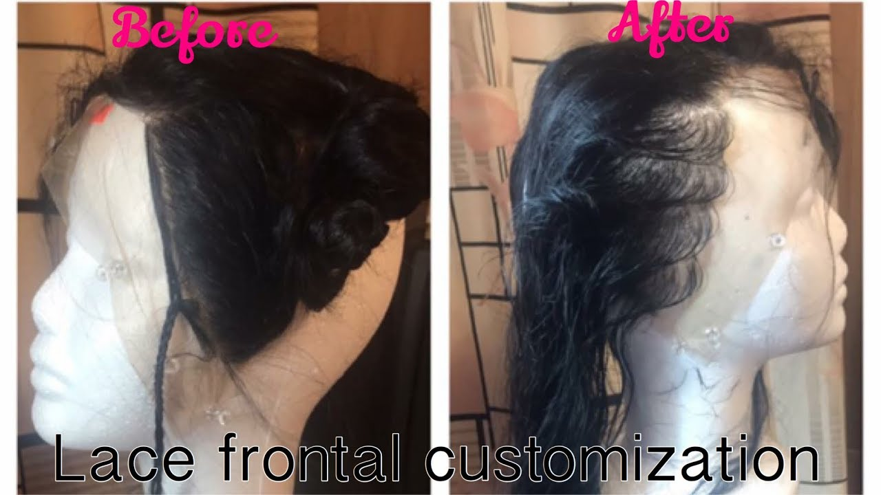 How To Customize My Lace Frontalbleachpluck Photogenic Staxxx