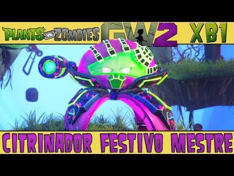 Plants vs. Zombies Garden Warfare 2 - Citrinador Festivo Mestre