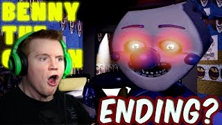 IS THIS THE END!? - Benny The Clown Circus World - Night 5 - ENDING!