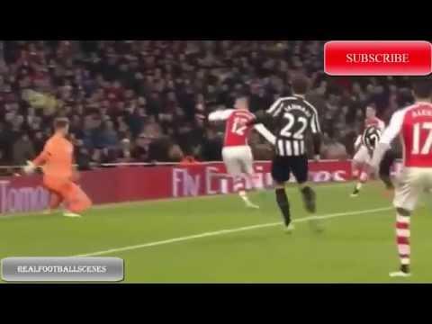Arsenal vs Newcastle 4-1 All Goals & Full Highlights 2014