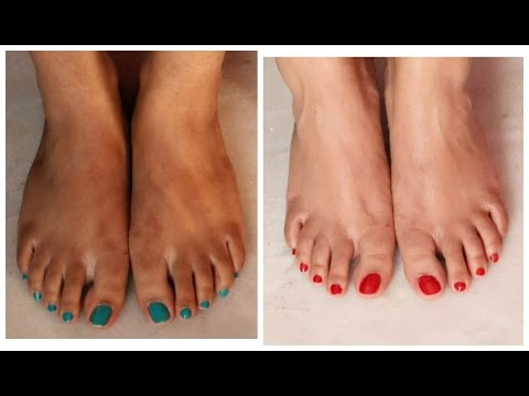 How To: PEDICURE at Home | Salon Style