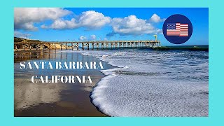 Santa Barbara, the beach, California