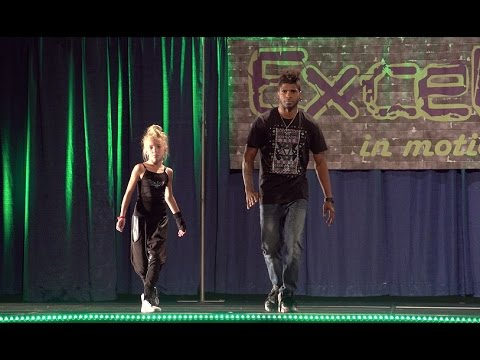 Cyrus Glitch Spencer feat. Phoenix lil'Mini | Excel In Motion 2015 | Dancersglobal.tv
