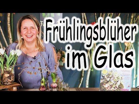 DIY: Frühlingsblüher im Glas | Tischdeko | Tulpen | Frühling | DIY | Shabby Chic | Floristik24