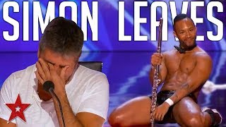HILARIOUS Flute Audition Makes SIMON COWELL Leave On America's Got Talent 2019 | Got Talent Global