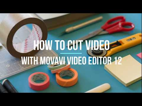 How to Cut Videos with Movavi Video Editor