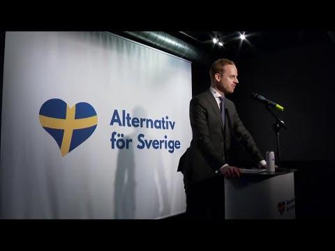 """Nya partiet """"Alternativ för Sverige"""" vill slå sig in i valkampen - Nyheterna (TV4)"""