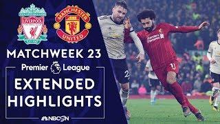 Liverpool v. Man United | PREMIER LEAGUE HIGHLIGHTS | 1/19/2020 | NBC Sports
