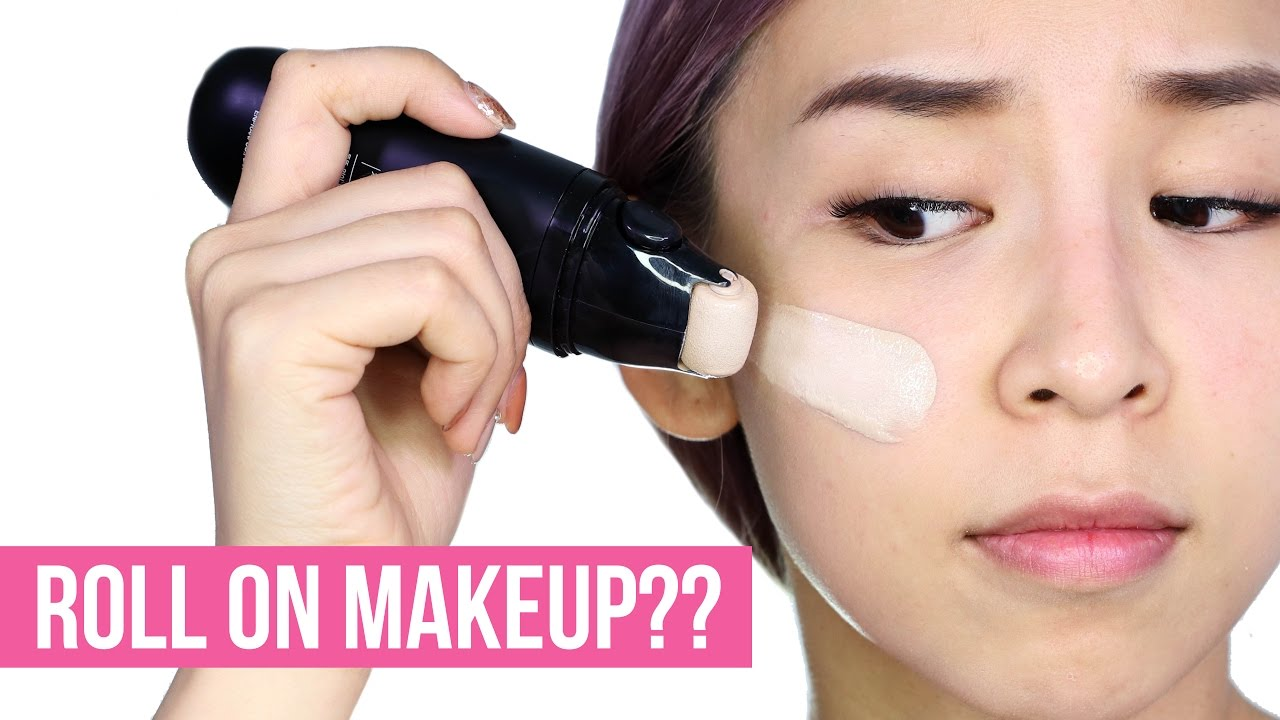 ROLL ON MAKEUP!! DOES IT WORK?? – TINA TRIES IT