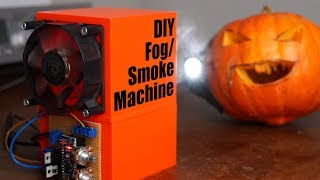 Trying to build a crude mini Fog/Smoke Machine