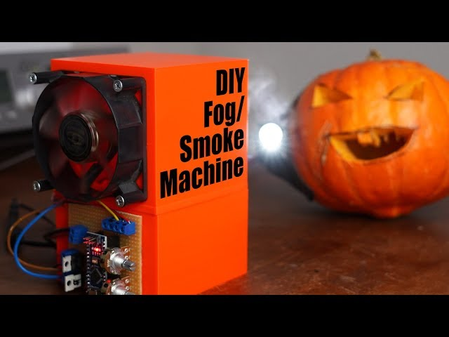 Trying to build a crude mini Fog/Smoke Machine