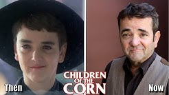 Children Of The Corn (1984) Cast Then And Now ★ 2020 (Before And After)