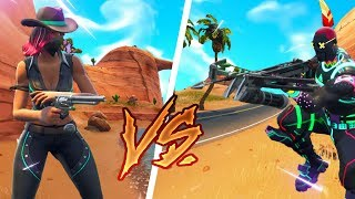 Cowboys vs. Indians in Fortnite Battle Royale !